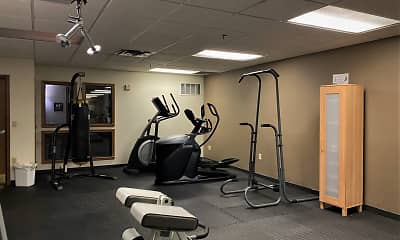 Fitness Weight Room, East Village, 2