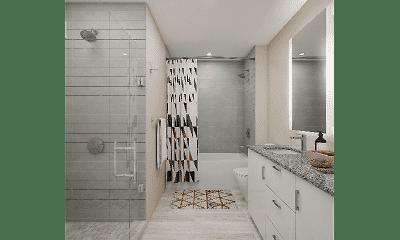 Bathroom, Ascent Peachtree, 2