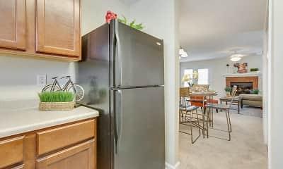 Kitchen, Northbrook Apartments, 1