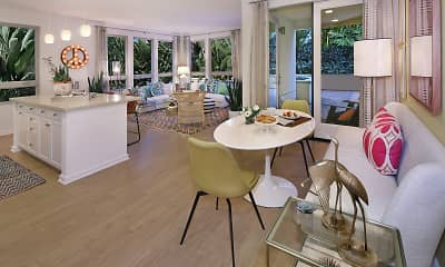 Dining Room, Villas at Playa Vista - Sausalito, 2