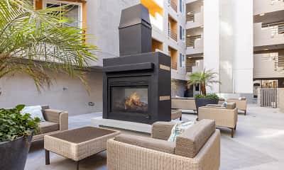 Patio / Deck, Vantage Hollywood Apartments, 2