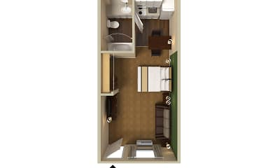 Furnished Studio - Denver - Cherry Creek, 2