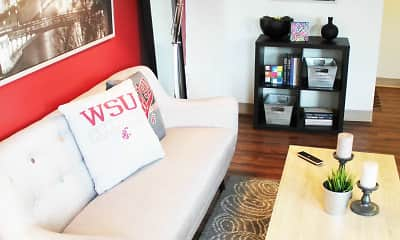 Living Room, The Ruckus - Student Living, 1