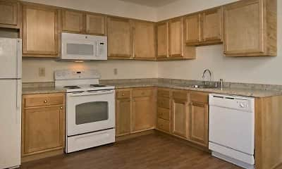 Kitchen, Parkwood Village Apartments, 0