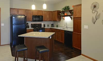 Kitchen, The Cielo Apartments, 1
