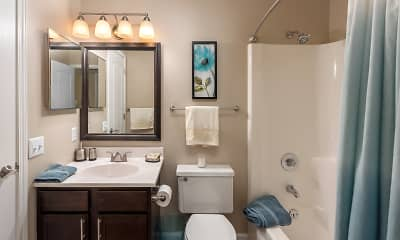 Bathroom, Whisper Hollow Apartments, 2