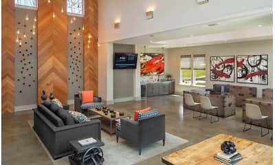 Living Room, The Corners at Holcomb Bridge, 1