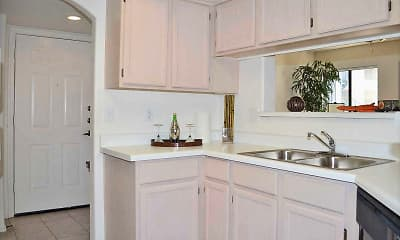 Kitchen, San Montego Luxury Apartments, 2