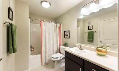 Bathroom, 3 Springs Apartments, 1