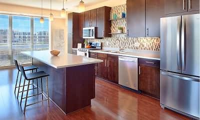Kitchen, Flux Apartments, 0
