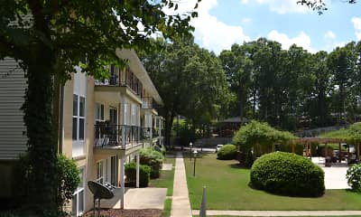 Building, Spanish Trace Apartments, 1