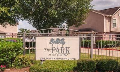 Community Signage, Park At Fort Bend, 1