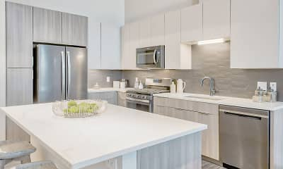 Kitchen, Ascent Apartments, 0