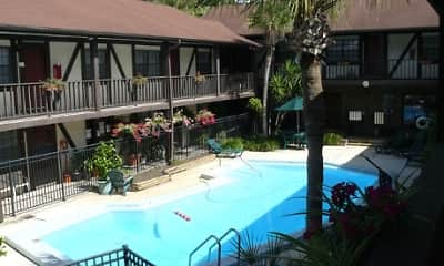 Pool, Lyn Village Apartments (Florida), 0