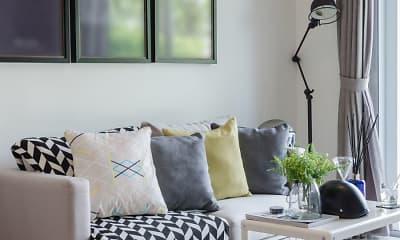 Bedroom, Queens Ridge Apartments, 1