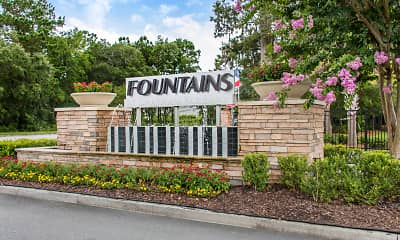 Community Signage, The Fountains at Chatham Parkway, 2