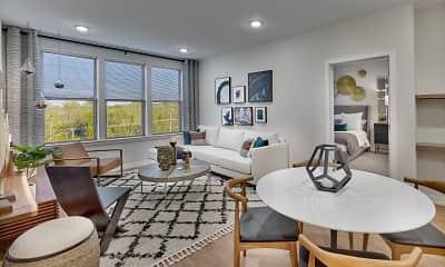 Living Room, Woodbine, 0