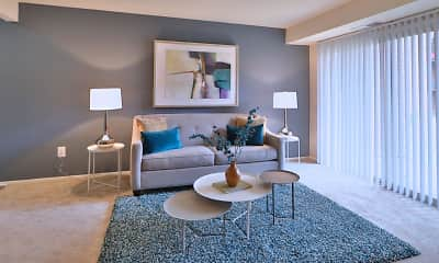 Living Room, Taylor Park Apartment Homes, 1