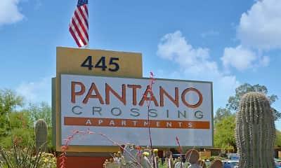 Community Signage, Pantano Crossing, 2