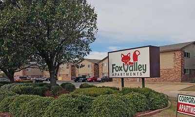 Community Signage, Fox Valley Apartments, 2