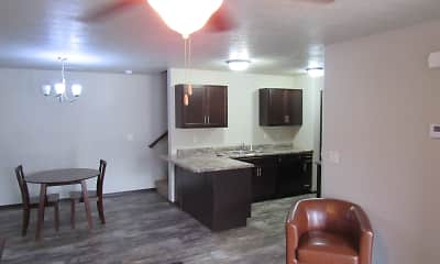 Kitchen, Beal Townhomes, 1