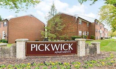 Community Signage, Pickwick Apartments, 2