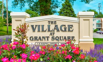 Community Signage, The Village At Grant Square, 2