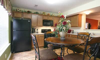 Kitchen, The Summit Townhomes, 1