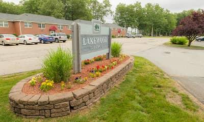 Community Signage, Lakewood Village Apartments, 2