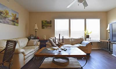 Living Room, Kimble Senior Housing, 1