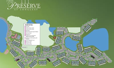 Community Signage, The Preserve At Longleaf, 2