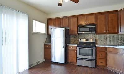 Kitchen, York Village Apartments, 1