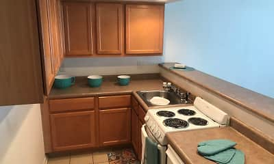 Kitchen, Spanish Oaks, 1