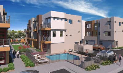 Building, Scottsdale Hayden Townhomes, 0