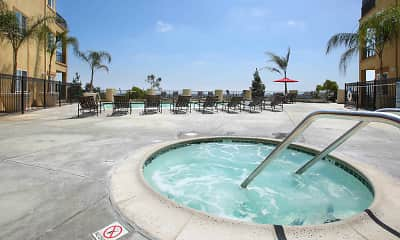Pool, Bay Hill Apartments, 2