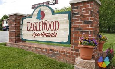 Community Signage, Eaglewood Apartments, 1