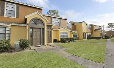 Building, Village Townhomes At Lake Orlando, 1