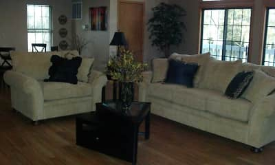 Living Room, Eastlake Woods Apartments, 1