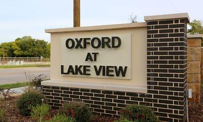 Community Signage, Oxford at Lake View, 0