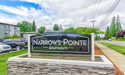 Community Signage, Narrows Pointe, 2
