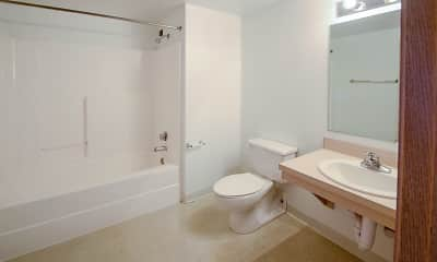 Bathroom, Crittenden Court Apartments, 2