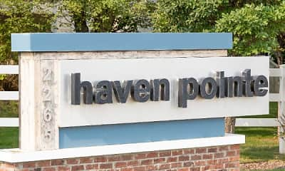 Community Signage, Haven Pointe Apartments, 2