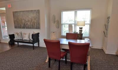Dining Room, Auburn Hill Apartments, 2