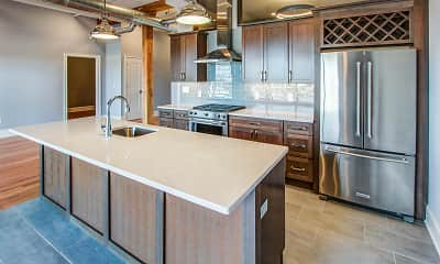 Kitchen, McCarthy Modern Heritage Lofts, 0