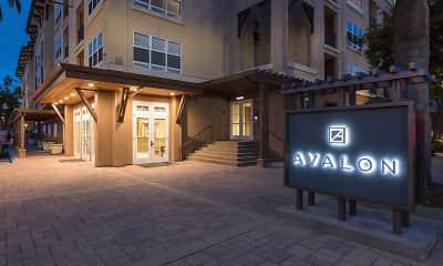Community Signage, Avalon San Bruno, 2