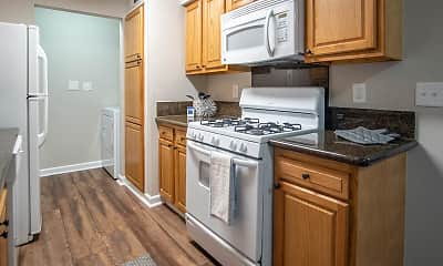 Kitchen, River Walk Apt. Homes, 1