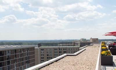View, North Park Apartments, 2