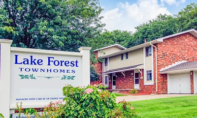 Community Signage, Lake Forest Townhomes, 0