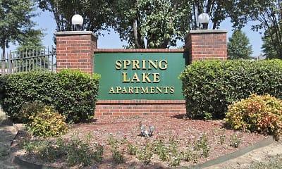 Community Signage, Spring Lake I/II, 2