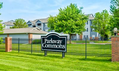 Community Signage, Parkway Commons, 2